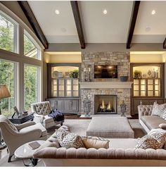Awesome Elegant Great Room On A Budget
