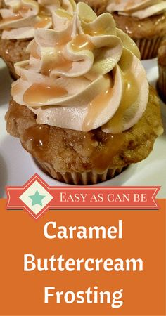The perfect Caramel Buttercream Frosting. The trick is getting the caramel to balance with the flavors of the buttercream frosting and this recipe makes it easy.