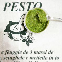 Pesto Genovese Fresco Artigianale, preparato con amore... Acquista online il tuo Pesto www.bottegadelpesto.com Pesto, Ethnic Recipes, Food, Eten, Meals, Diet