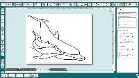No more double lines when tracing images!!!! Video tutorial for using Rapid Resizer to trace images for use with Silhouette.