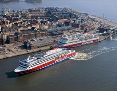 Viking Line, Stormy Waters, Ferry Boat, Helsinki, Water Sports, Travel Posters, Vikings, Scotland, Sailing