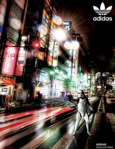 Adidas Starwars They are Invading by Moustafa Hassan, via Behance.