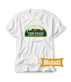 6fca503b Twin peaks sheriff department Chic Fashion Shirt Short-Sleeve Unisex T-Shirt
