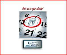 #SeeTheDentistTwiceAYear #BecauseYouNeedYourTeeth! http://www.fairfielddentalassociates.com/preventive-care