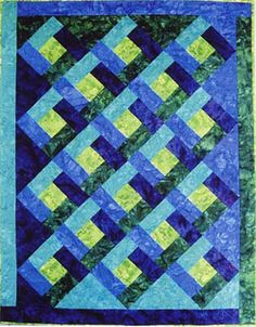 Designed for the beginner with some previous experience, this quilt is quick and…
