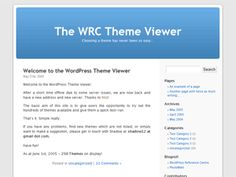 The default WordPress theme that graced version 1.5 to version 2.9, based on the famous Kubrick.