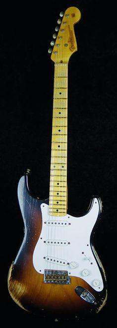 Fender USA CUSTOM SHOP 60th Anniversary 1954 Heavy Relic Stratocaster/2-Color Sunburst 【PGC-FENDER】【楽天市場】