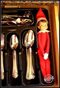 Silverware Elf - the