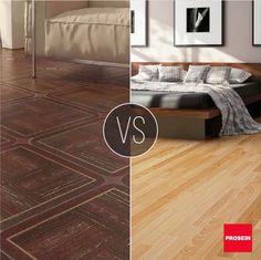 ¿Cuál de éstas texturas prefieres para tus pisos?