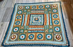 Poldark 2015, Central Square, Demelza, A Hook, Crochet Blankets, Crochet Granny, Afghans, Crochet Projects, Ravelry