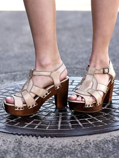 4187b1973070 38 Best DETAILS - Wooden Heels images in 2019 | Wedge, Wedge heels ...