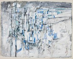 From Veritas: Modern & Contemporary, Maria Helena Vieira da Silva, La Ville, Watercolor and gouache on paper, 48 × 62 cm Paris Kunst, Paris Art, Contemporary Artists, Modern Contemporary, Art Informel, Constructivism, Abstract Art, Abstract Paintings, Art Plastique