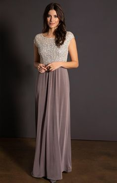 0c7f8daffda Coco Gown Dusky Truffle. Party KleidungOccasion WearBodiceEvening ...