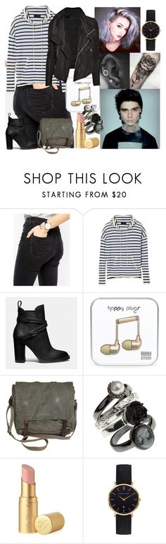 """""""School Day #8"""" by blackest-raven ❤ liked on Polyvore featuring ASOS, Coach, Too Faced Cosmetics, Rick Owens and Abbott Lyon"""