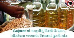 Gujarat માં મગફળીનું વિક્રમી ઉત્પાદન, સીંગતેલના જથ્થાબંધ નિકાસમાં છુટની માંગ