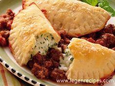Crafty Crescent Lasagna | Recipe | Crescents, Lasagna and Pillsbury