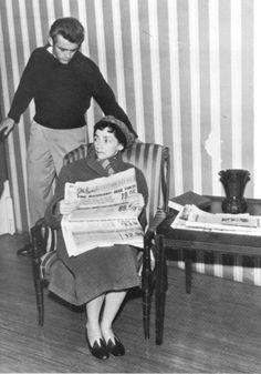 James Dean &  Mildred Dunnock