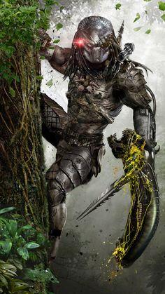 Alien vs Predator (by uncannyknack) Alien Vs Predator, Predator Movie, Predator Alien, Predator Cosplay, Sci Fi Movies, Horror Movies, Zombie Movies, Sci Fi Fantasy, Dark Fantasy