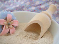 Kyoto Scrub recipe    2T Ginseng Powder  3T Adzuki Bean Powder  3T Rice Powder, Fine