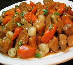 Crock-Pot: Mediterranean Pork Pot Au Feu