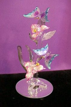 My mother would have loved these! Glass Baron, Swarovski Crystal Figurines, Art Nouveau, Dale Chihuly, Blown Glass Art, Glass Artwork, Murano, Glass Figurines, Glass Animals