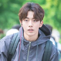Hair Cuts Korean Men Ideas Sure, the bushy perms of the might be out of vogue, but there are Korean Haircut Men, Korean Men Hairstyle, Korean Short Hair, Hair Styles Korean Men, Korean Hairstyles, Half Updo Hairstyles, My Hairstyle, Undercut Hairstyles, Vintage Hairstyles
