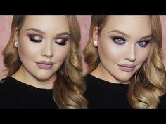 PURPLE Holiday Glam Makeup Tutorial – Makeup Project