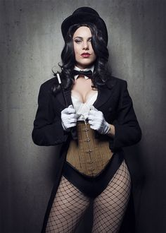 Zatanna - New York Comic Con Cosplay: See The Sexiest And Most Elaborate Costumes - MTV