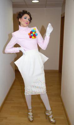 Colección SWEET SUGAR otoño/invierno 2012/13 modelo bella maniquí de escaparate.