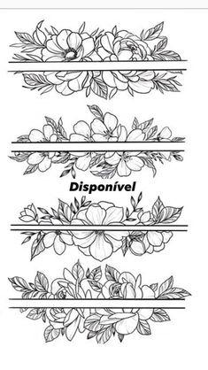 Dream Tattoos, Body Art Tattoos, Tatoos, Tattoo Stencils, Tattoo Fonts, Pretty Tattoos, Beautiful Tattoos, Flower Tattoo Designs, Flower Tattoos