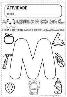 ATIVIDADE PRONTA - LETRA M