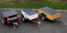 Jeep Trailer Fiberglass Tub Kit Modular DIY Build at Home Trailers