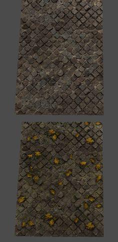 ArtStation - Roman Brick Tiles, Stefan Groenewoud