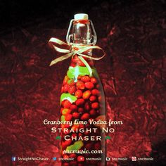 How to make your own Cranberry Lime flavored Vodka - #SNCmusic   Straight No Chaser Holiday Pin #3 - Straight No Chaser Official Blog