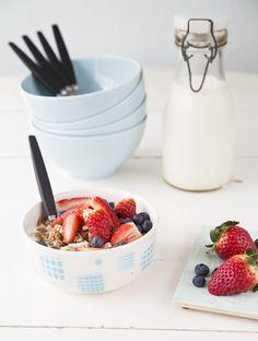 Frukost, recept publicerade i Expressens Leva & Bo / Breakfast recipes, published in Leva & Bo (Expressen) Foto: Emmy Lundström Ennui.se
