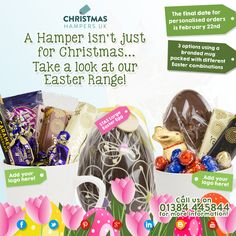 Christmasisforsharing a thankyou with your clients staff christmas hampers uk offers uk wide delivery of branded hampers and corporate gifts with discounts on bulk orders make them ideal for staff and customer negle Choice Image