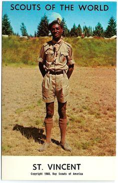 #1968 #Boy #Scouts of the #World #StVincent #Caribbean #Island #Vintage #Postcard #evt #1960s #ephemera by OakwoodView