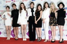 151227 Taeyeon, Sunny, Tiffany, Hyoyeon, Yuri, Sooyoung, Yoona, Seohyun @ SBS Gayo Daejun