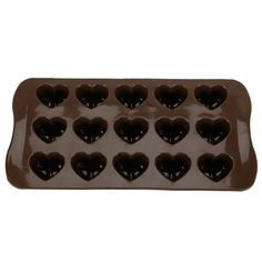 DIY Mold 15-cavities Heart Shape Ice Cake Chocolate Sugar Silicone Cube Mold Craft Fondant Mold Tray >>> Click on the image for additional details.