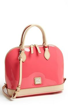 Dooney & Bourke Patent Leather Satchel available at #Nordstrom