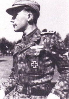 Hauptsturmführer Miervaldis Adamsons from 19th Waffen SS 2nd Latvian Division