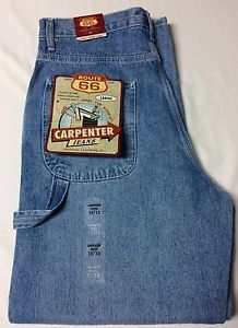 NEW Route 66 Womens Carpenter Jeans Size 11/12 Petite Faded Denim Blue | eBay