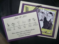 Our wedding invites!