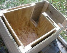Brilliant Ideas DIY Dog House 151 is part of Dog house diy - Brilliant Ideas DIY Dog House 151 Cheap Dog Houses, Cat Houses, Niche Chat, Large Dog House, Outdoor Cats, Outdoor Cat Shelter, Feral Cats, Dog Runs, Pets