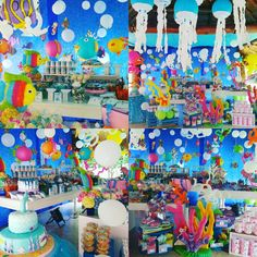 By: @patriciabaute Under the sea party