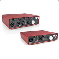 Focusrite has today launched two new members of the Scarlett USB Audio Interface family.