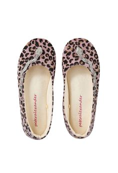 Image for Jungle Leopard Couture Slipper from Peter Alexander