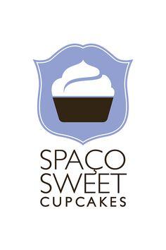logo | Tumblr Typography Prints, Typography Design, Logo Design, Baking Logo, Chocolate Fountains, Sweet Cupcakes, Branding, Packaging, Logos
