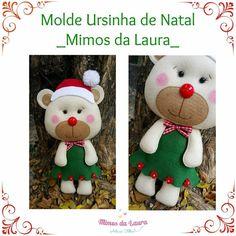 Minha Paixão Pelo Feltro - Dani Abrão - Mimos da Laura