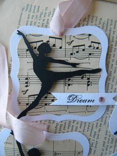 Dream Tags (dancer silhouette) ... set of 6. $6.00, via Etsy. - For dance teachers next May.